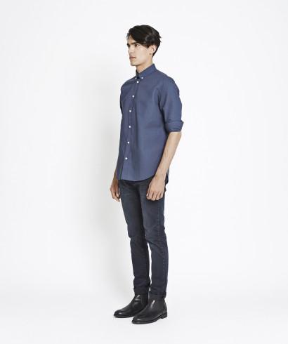 Samsoe Samsoe Liam CX2694 Shirt Midnight 2