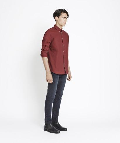 Samsoe Samsoe Liam CX2694 Shirt Tawny Port 2