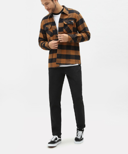 Dickies-Sacaramento-shirt-brown-duck-1