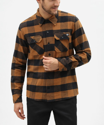 Dickies-Sacaramento-shirt-brown-duck-2