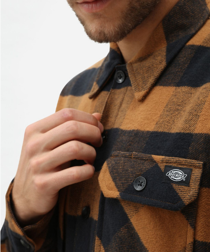 Dickies-Sacaramento-shirt-brown-duck-4
