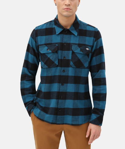 Dickies-Sacaramento-shirt-cobatl-blue-2