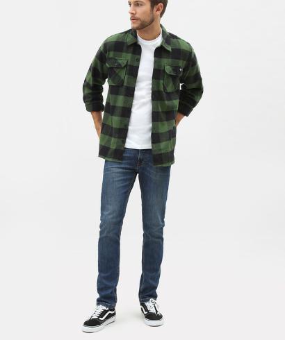 Dickies-Sacaramento-shirt-pine-green-1