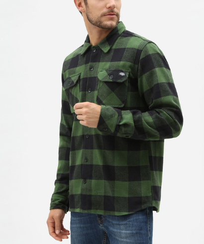 Dickies-Sacaramento-shirt-pine-green-2