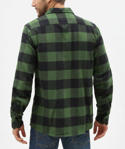 Dickies-Sacaramento-shirt-pine-green-3