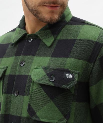 Dickies-Sacaramento-shirt-pine-green-4