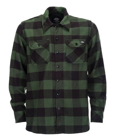 Dickies-Sacramento-Pine-Green-Shirt-1