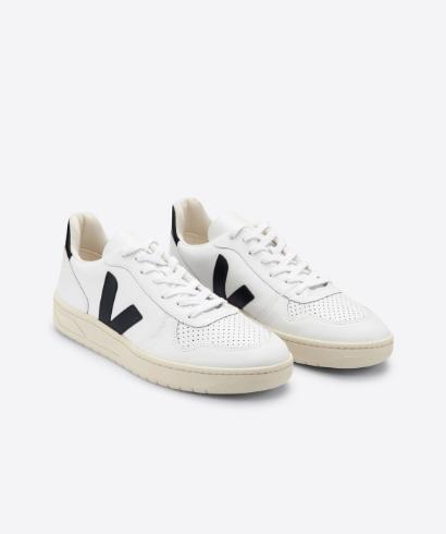 Veja-V-10-Leather-extra-white-Black-3