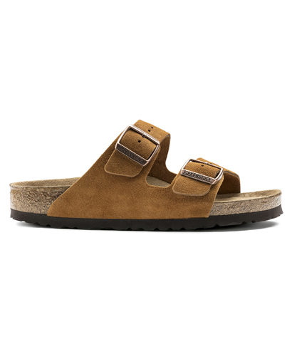 Birkenstock Arizona Mink Suede Leather 7