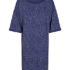 numph dorinda jersey dress medieval blue