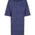 numph dorinda jersey dress medieval blue