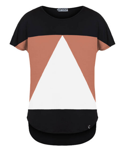 Pitagora_Camiseta_Aequilaterus_Negro_Coral