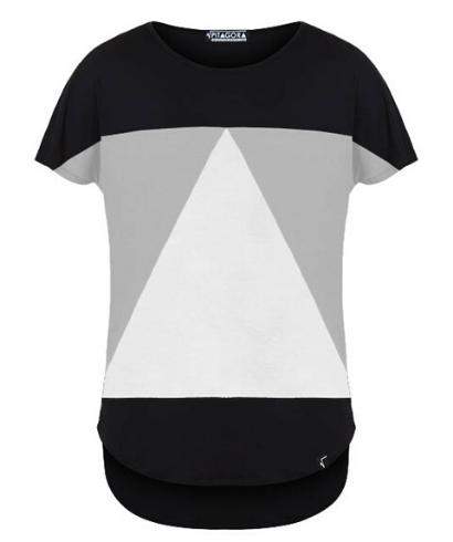 Pitagora_Camiseta_Aequilaterus_negro_Gris