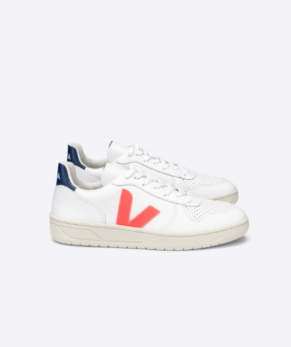 Veja-V-10-Leather-extra-white-orange-fluor-cobalt-1
