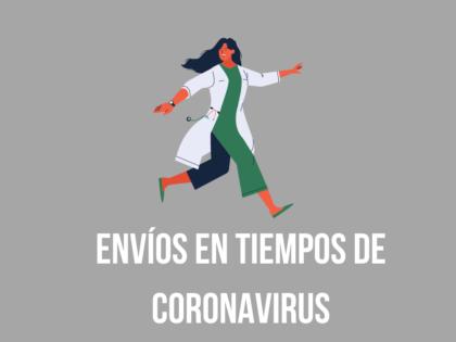 Envíos en tiempos de Coronavirus