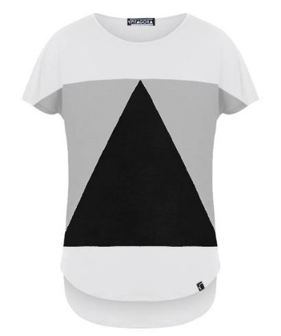 Pitagora-Camiseta-Aequilaterus-Blanco-Gris