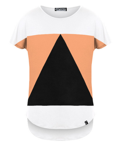 Pitagora-Camiseta-Aequilaterus-Blanco-Peach