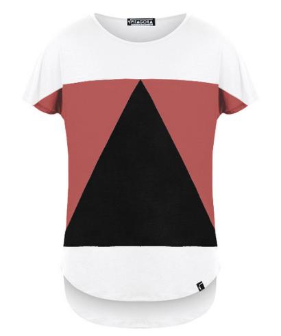 Pitagora-Camiseta-Aequilaterus-Blanco-Rosso