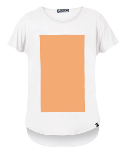 Pitagora_Camiseta_Quadrilateral_Blanco_Peach