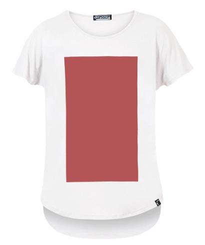 Pitagora_Camiseta_Quadrilateral_Blanco_Rosso