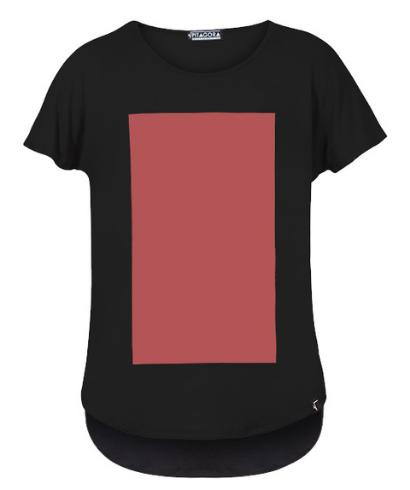 Pitagora_Camiseta_Quadrilateral_Negro_Rosso