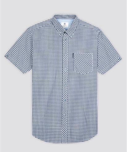 Ben-Sherman-Camisa-Vichy-azul-4