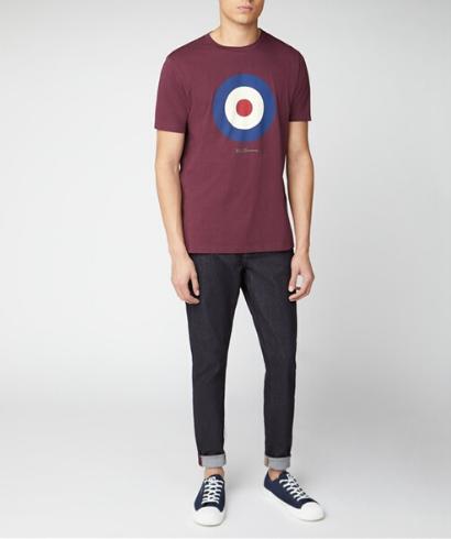 Ben-Sherman-Camiseta-mod-burdeos-2