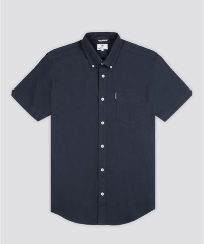 Ben-Sherman-Camisa-Manga-corta-Marino-2