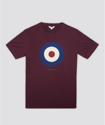 Ben-Sherman-Camiseta-mod-burdeos-1
