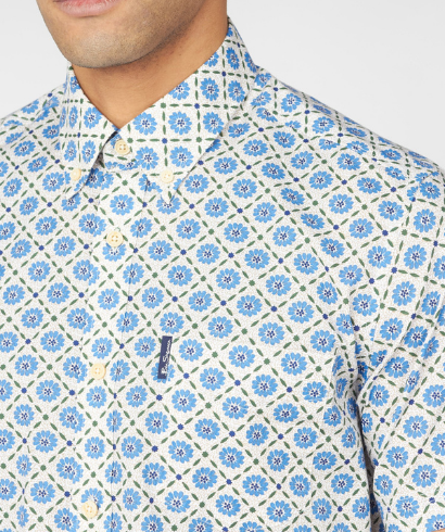 Ben-Sherman-block-floral-shirt-riviera-blue-2