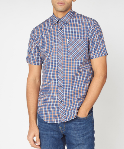 Ben-Sherman-check-shirt-anise-1