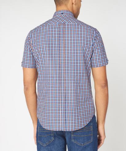 Ben-Sherman-check-shirt-anise-3
