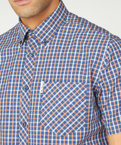 Ben-Sherman-check-shirt-anise-4