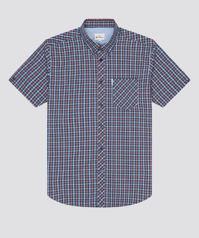 Ben-Sherman-check-shirt-anise-5