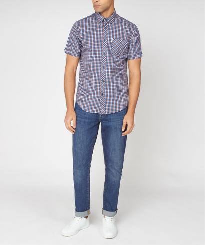 Ben-Sherman-check-shirt-anise-6