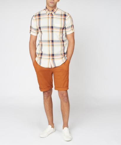 Ben-Sherman-large-oxford-check-shirt-anise-5