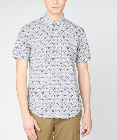 Ben-Sherman-retro-print-shirt-mood-indigo-1