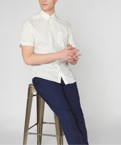 Ben-Sherman-scattered-geo-print-snow-white-shirt-2