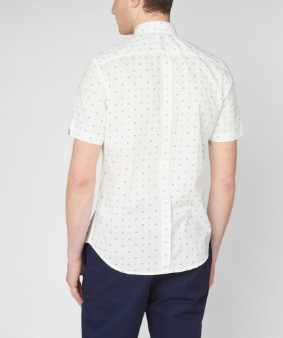 Ben-Sherman-scattered-geo-print-snow-white-shirt-3