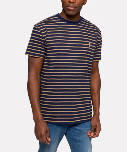 revolution-1056-tshirt-navy-mel-1