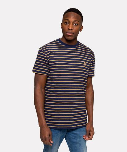 revolution-1056-tshirt-navy-mel-2
