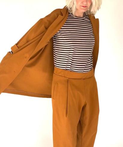 maider alzaga daniela pantalon mostaza 1