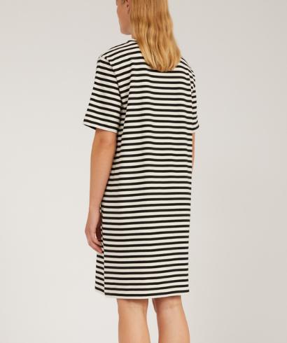 Armedangels-Kleaa-Stripe-Undyed-Black-Dress-2
