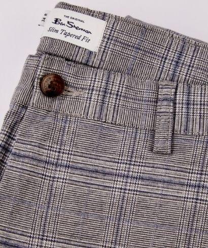 ben-sherman-heritage-check-print-slim-taper-trouser-steel-5