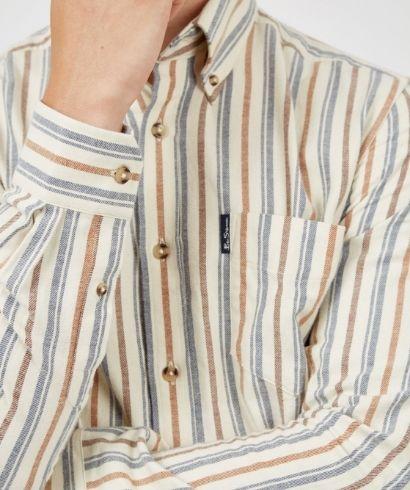 ben-sherman-long-sleeve-brushed-vertical-stripe-shirt-ivory-2