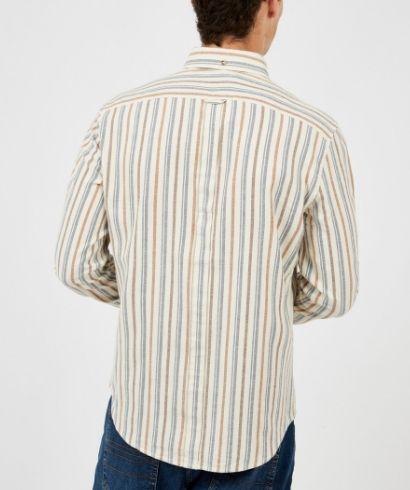 ben-sherman-long-sleeve-brushed-vertical-stripe-shirt-ivory-3