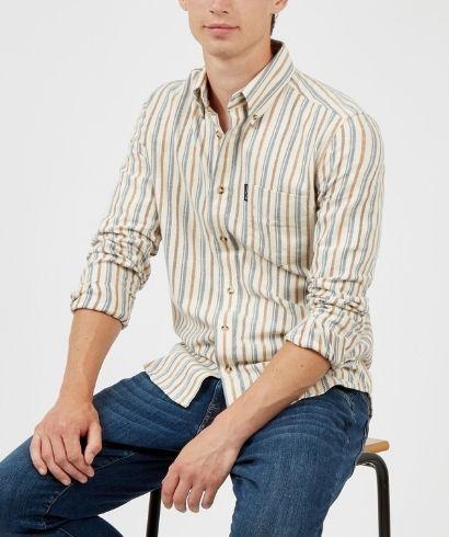 ben-sherman-long-sleeve-brushed-vertical-stripe-shirt-ivory-4