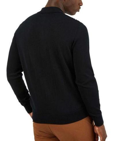 ben-sherman-mod-check-cardigan-black-3