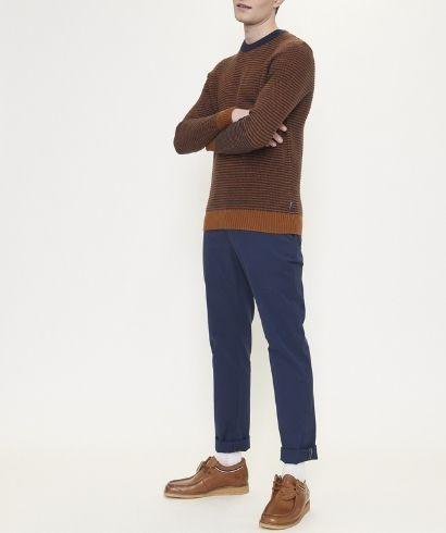 ben-sherman-stripe-crew-knit-caramel-4