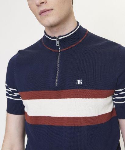 ben-sherman-zip-neck-polo-shirt-marine-2